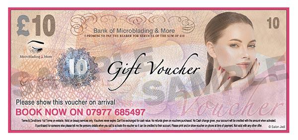 Kent Beauty Salon gift voucher